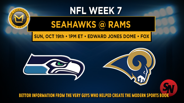 Seattle Seahawks @ St. Louis Rams