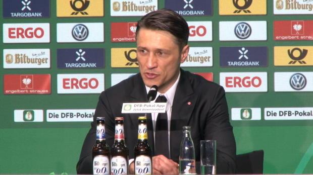 """Kovac dankbar: """"Bin stolz auf Team und Fans"""""""