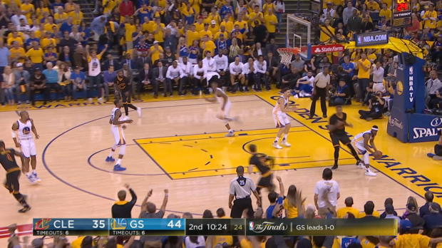 Block of the Night: Andre Iguodala