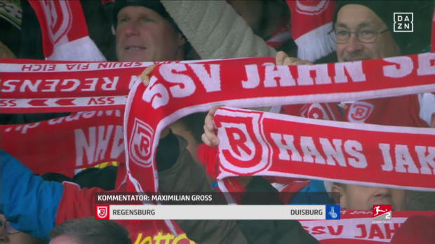 SSV Jahn Regensburg - MSV Duisburg