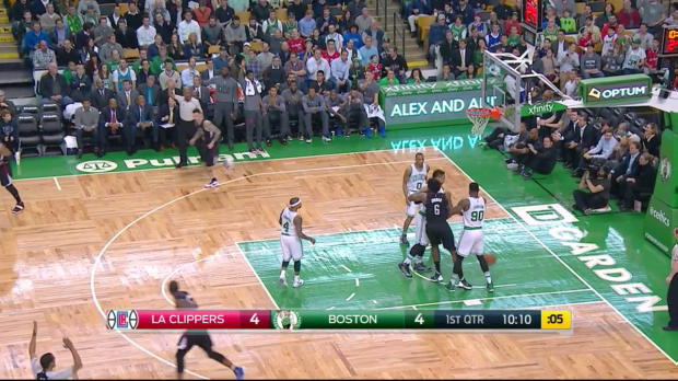 WSC: Chris Paul with 13 Assists against the Celtics