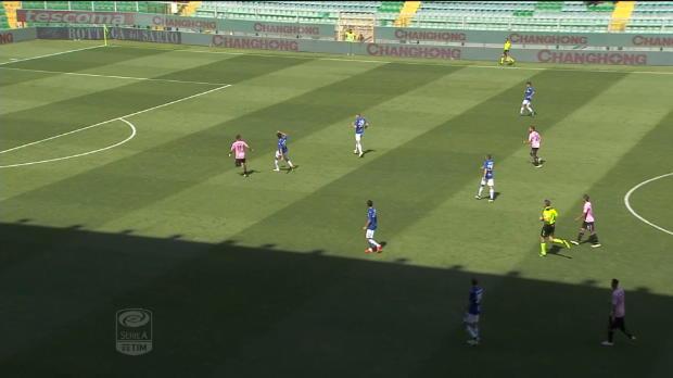 Serie A Round 36: Palermo 2-0 Sampdoria