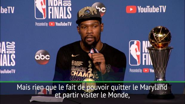 """Basket : Finale - Durant - """"Je dois tout au basket"""""""