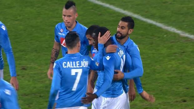 Napoli 2-0 Parma, Giornata 16 Serie A TIM 2014/15
