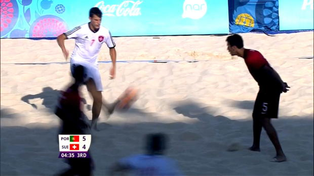 """Messi of Beach Soccer"" mit Traumtor in Baku"