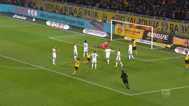 Bundesliga - 15e j. - Le but de Reus qui fait le break pour Dortmund