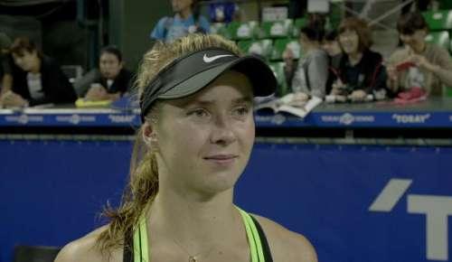 Svitolina Interview: WTA Tokyo 2R