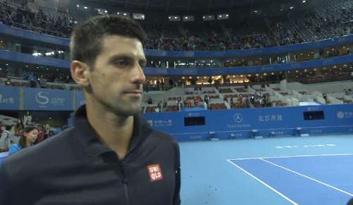 Djokovic Interview: ATP Beijing Final