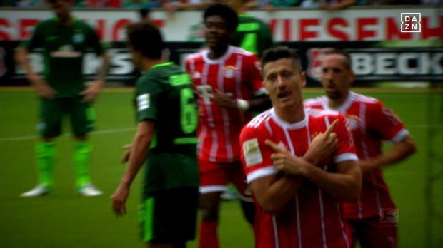 Top 5: Robert Lewandowskis schönste Liga-Buden
