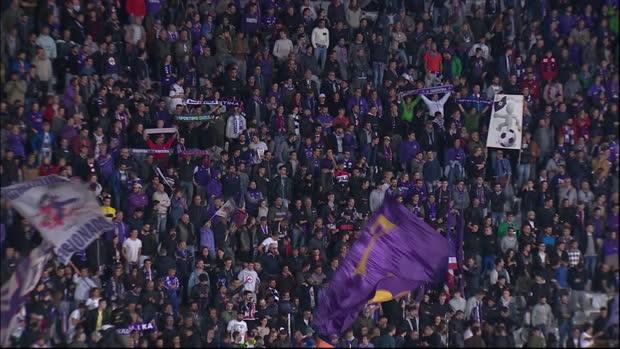 Serie A: Florenz - AS Rom   DAZN Highlights
