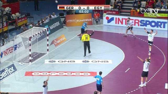 Allemagne 23-16 Egypte
