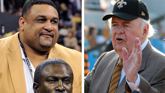 Willie Roaf on Tom Benson: 'He was the backbone of New Orleans'