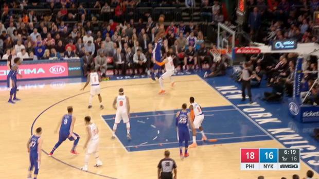 GAME RECAP: 76ers 118, Knicks 110