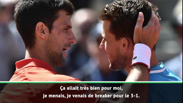 """Basket : Roland-Garros - Thiem - """"Un match épique"""""""