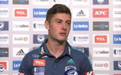 Hear from Melbourne Victory winger Marco Rojas after Saturday night's 4-1 win over Perth Glory.