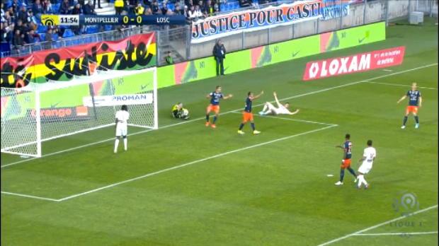كرة قدم: الدوري الفرنسي: مونبيلييه 0-3 ليل