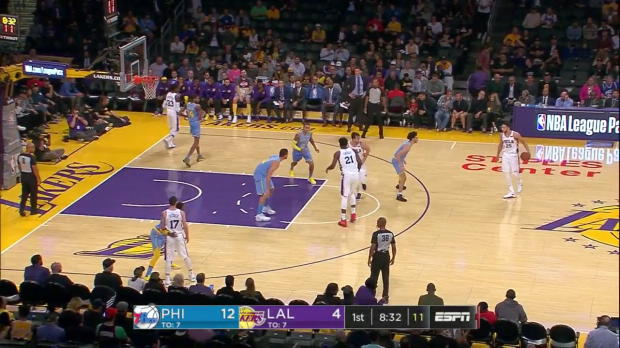 WSC: Ben Simmons (18 points) Game Highlights vs. Los Angeles Lakers