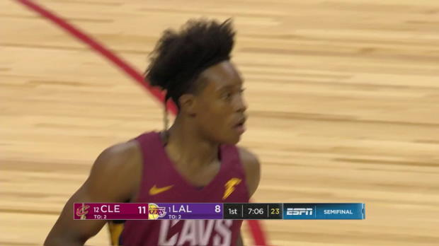 WSC: Collin Sexton (27 points) Highlights vs. Los Angeles Lakers