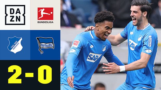Bundesliga: TSG Hoffenheim - Hertha BSC | DAZN Highlights
