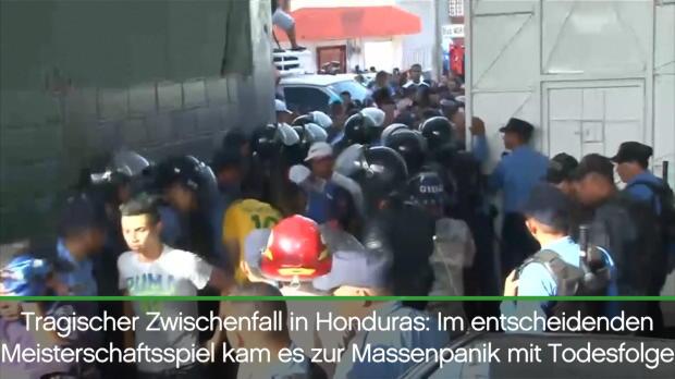 Honduras: Mehrere Tote nach Massenpanik