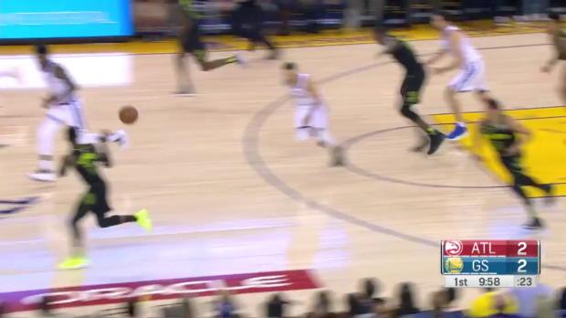 WSC: Dennis Schroder (16 points) Highlights vs. Golden State Warriors, 03/23/2018