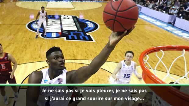 """Basket : NBA - Williamson sur la Draft - """"Je ne sais pas comment je vais réagir"""""""