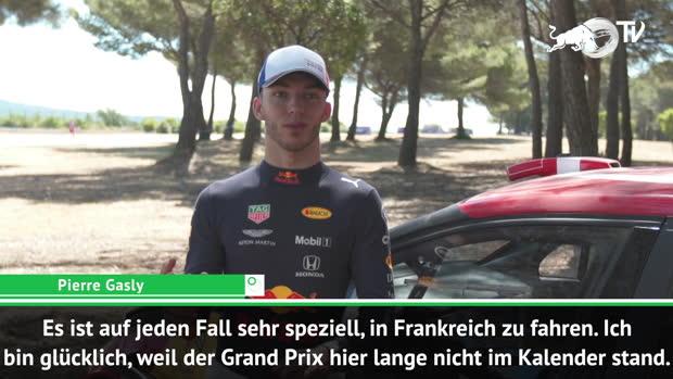 F1: Gasly zuversichtlich: War hier immer stark