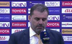 Caltex Socceroos boss Ange Postecoglou feels his side didn't cope with Iraq's direct style of play.