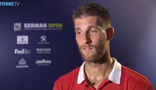 Klizan Interview: ATP Hamburg SF