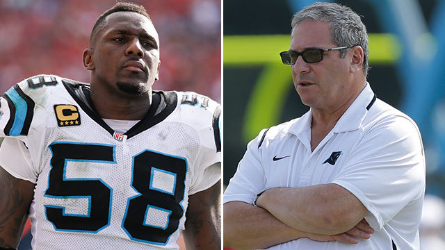 Thomas Davis: 'Unfair' to say Dave Gettleman was fired because of me
