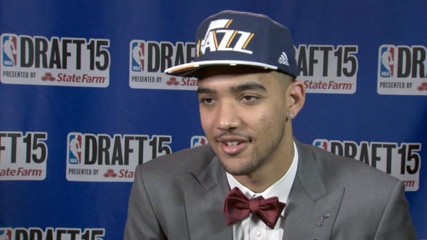 Trey Lyles Draft Night Interview