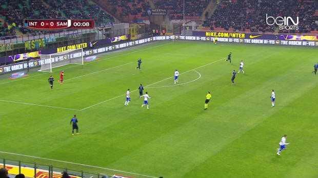Coupe d'Italie : Inter 2-0 Sampdoria