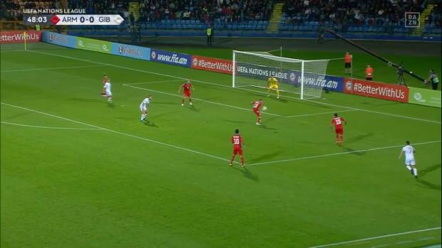 Mkhitaryan bei Gibraltars erstem Sieg gedemütigt! | Armenien vs Gibraltar | Highlights | UEFA Nations League