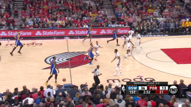 WSC: Draymond Green 21 points vs the Trail Blazers