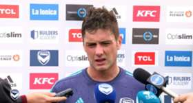 Hear from Melbourne Victory winger Marco Rojas ahead of Sunday's Semi Final against Brisbane Roar at AAMI Park.