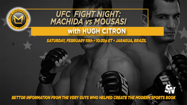 UFC Fight Night: Machida VS. Mousasi