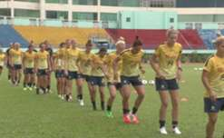 Interim Coach Alen Stajcic says the Matildas are determined to reach the Asian Cup decider as they look to account for Korea Republic.