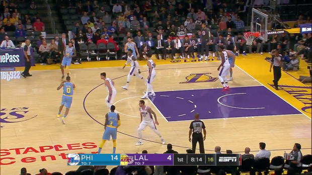 WSC: Brandon Ingram (26 points) Game Highlights vs. Philadelphia 76ers