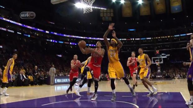 Basket : NBA - Les Lakers font tomber les Bulls
