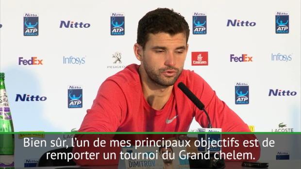 "Tennis : Dimitrov - ""Un Grand Chelem en 2018"""