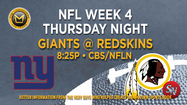New York Giants @ Washington Redskins