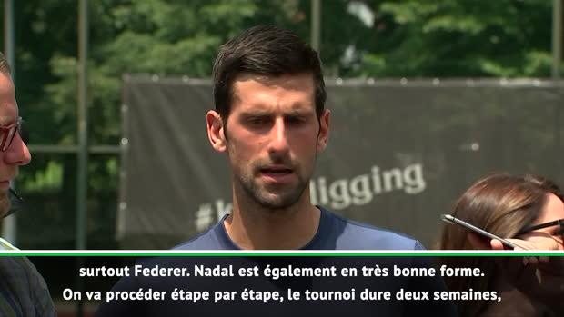 "Basket : Wimbledon - Djokovic - ""Federer, Nadal et moi-même, sommes favoris"""