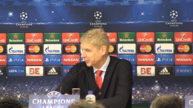 """Foot : LDC - Groupe D : Wenger : """"Le bon état d'esprit"""""""