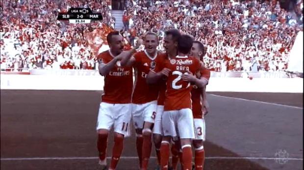 كرة قدم: الدوري البرتغالي: بنفيكا 3-0 ماريتيمو