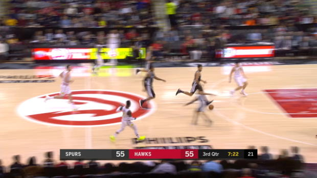 Assist of the Night: Dennis Schroder