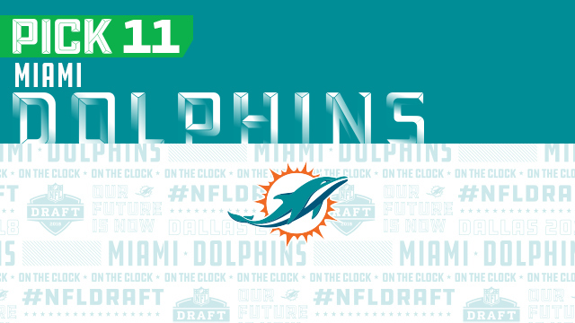 Miami Dolphins pick No. 11 | 2018 NFL Mock Draft Live