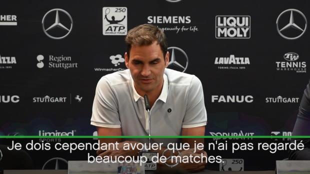 : Roland-Garros - Federer - 'Nadal ? Ça ne me surprend pas du tout'