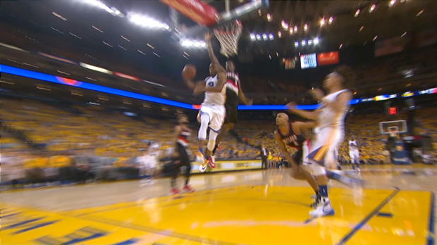 Andre Iguodala Shows Off His Handles and Goes Coast-to-Coast!