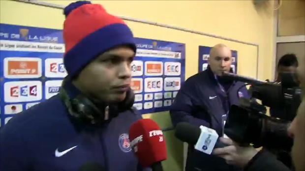 CDL - PSG, Thiago Silva : 'Ibra est un grand joueur'
