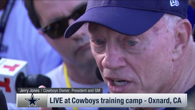 Jerry Jones emphatically defends decision to release Lucky Whitehead
